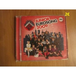 Dubbel CD Junior Eurosong 2009