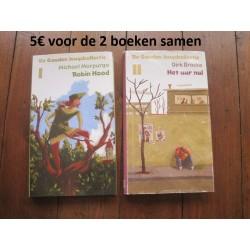"""Boeken Robin Hood"""" en """"Het..."""